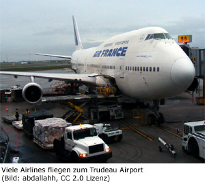 Terminal Airline Fluggesellschaft Montreal Flughafen