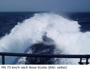 Fähre Nova Scotia Cat
