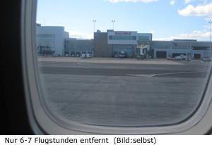 FLugzeit Dauer Deutschland Halifax Ostküste Kanada