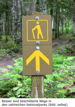 Wandern Gefahren Tipps Kanada
