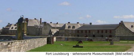 Louisbourg Kanada Museum Historic Frankreich