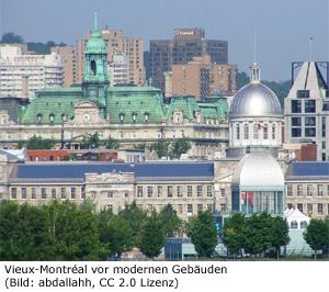 Montreal Sightseeing Sehenswürdigkeit Altstadt Vieux