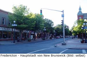 Klima Reisezeit New Brunswick Anreise