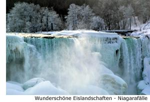 Niagara Fälle Kanada Winter