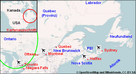 Ontario Karte Plan