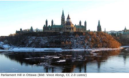 Ottawa Sightseeing Sehenswürdigkeit Parlament Parliament