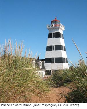 Prince Edward Island Klima Anreise Reisezeit