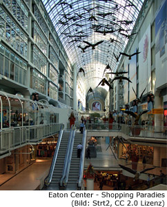 Shopping Center Toronto