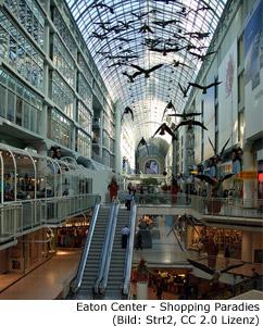 Shopping Center Toronto
