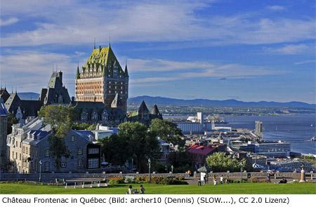 Quebec Reiseführer Sightseeing Sehenswürdigkeiten