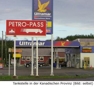 Benzinpreis Tanken Sprit Kanada