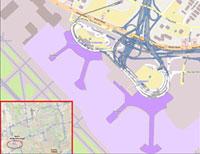Toronto Airport Übersicht Karte - Map