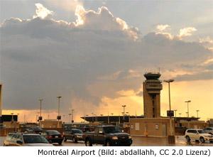 Montreal Flughafen Airport Trudeau