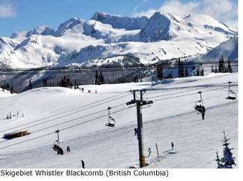 Skigebiet Whistler Blackcomb Kanada