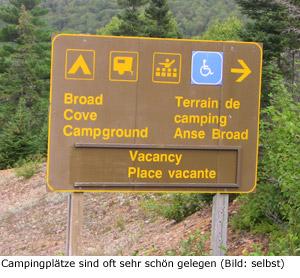 Camping Campground Kanada